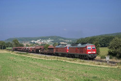 DB 233 452 + 232 535 Hiltersdorf  22/08/2013