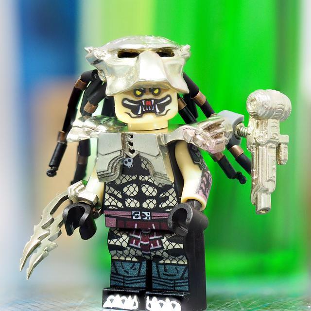 Predator Wolf is hunting Lego