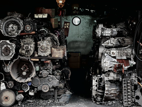 Used auto parts factory