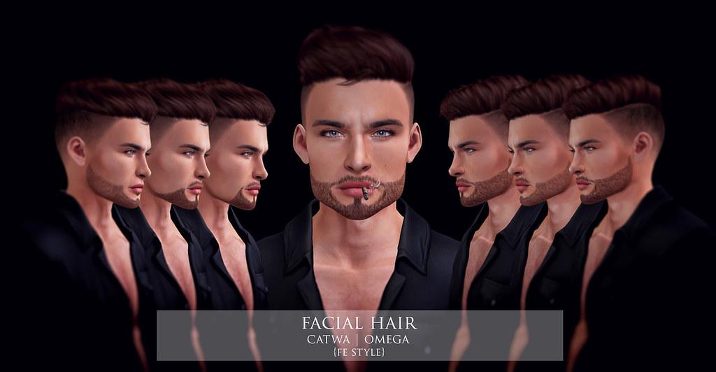 FE STYLE Facial Hair @ HME December round - TeleportHub.com Live!
