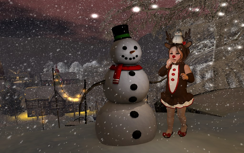 Snowman and Clarice