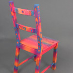 Andrew Huffman; Tequila Sunise; Item 117 - in SITu: Art Chair Auction