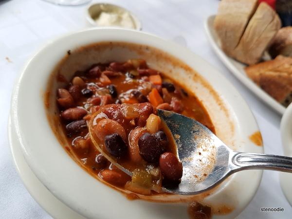 Five bean chowder