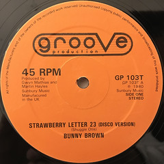 BUNNY BROWN:STRAWBERRY LETTER 23(LABEL SIDE-A)