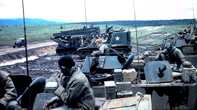 M113 acav and M113 LAB 2/8th Infantry