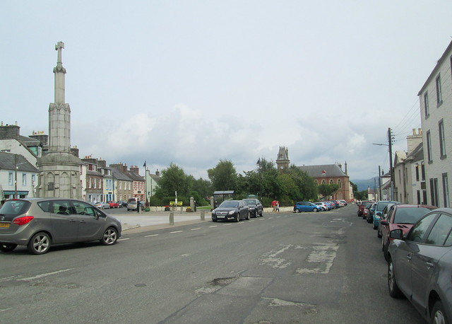 Main Street, Wigtown, Reverse View