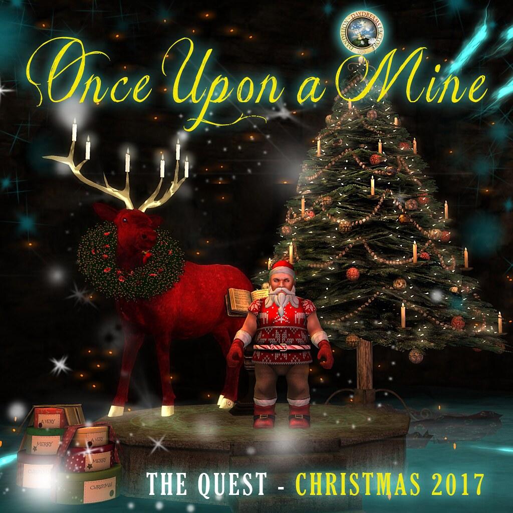 Once Upon A Mine - Christmas  Poster - TeleportHub.com Live!