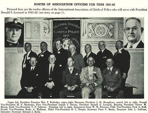 1941-42-President Leonard's Officers