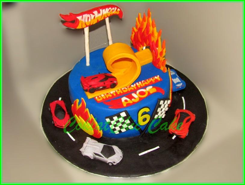Cake Hotwheels AJOS 15cm