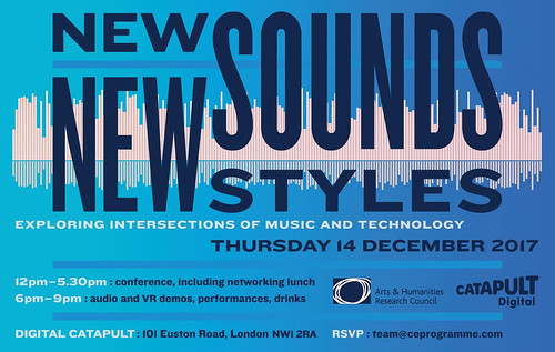 New Sounds New Styles Logo designed by Malcolm Garrett