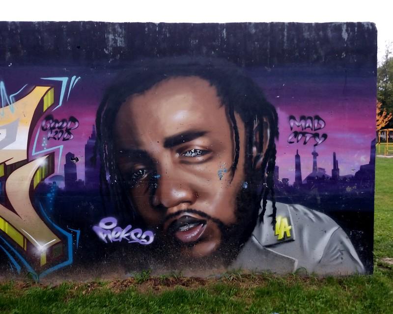 "Pieksa, ""Kendrick Lamar"", July 2017"