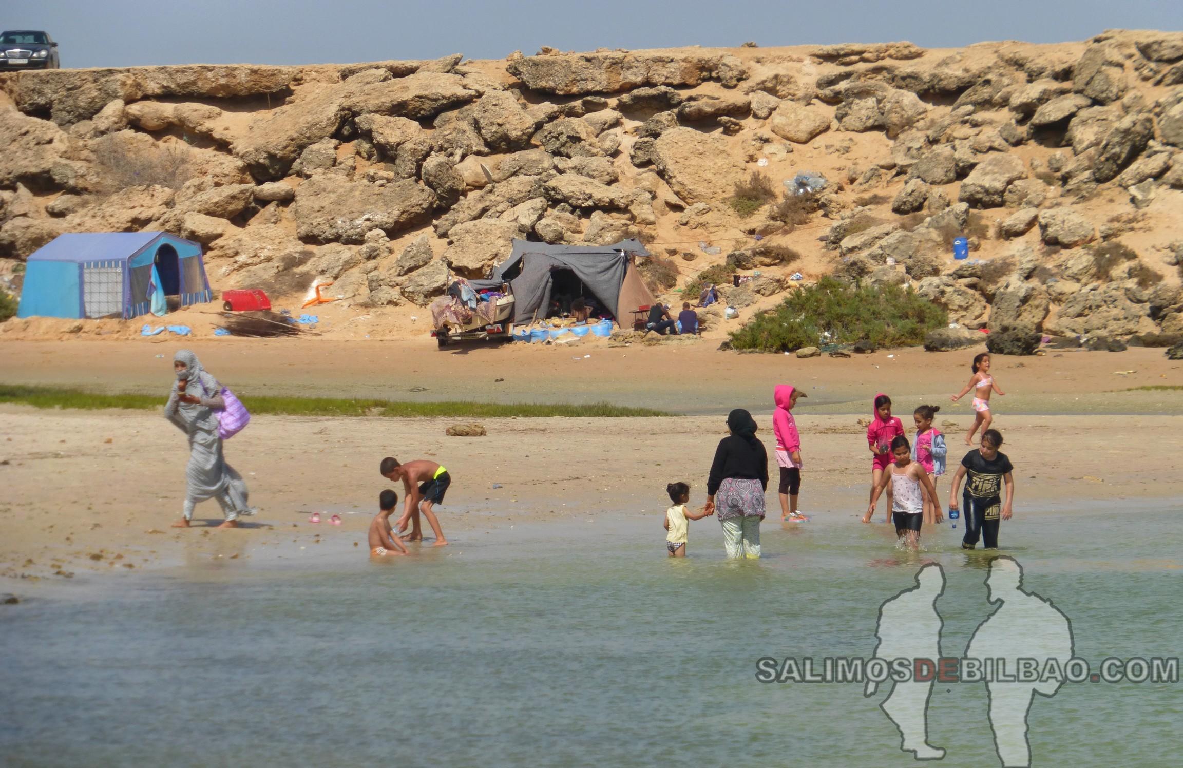 0127. Playa de los Saharauis, Trayecto de La Source a Dakhla