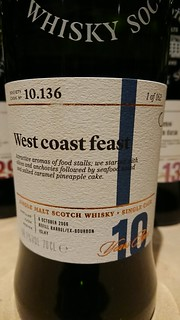 SMWS 10.136 - West coast feast