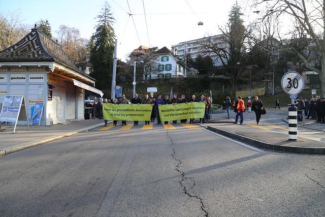 Bauerndemo 27.11.2015 in Bern / Grande manifestation 27.11.2015 à berne
