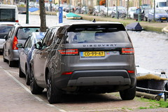Land Rover Discovery on diplomatic plates