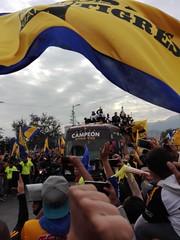 Desfile Tigres UANL