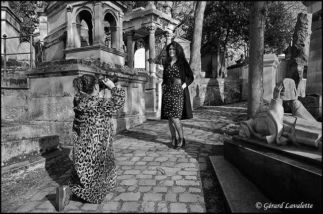 shooting au cimetière.