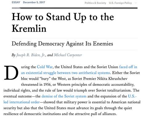 17l11 FA Defendiendo la democracia contra sus enemigos Joseph R. Biden Uti 465