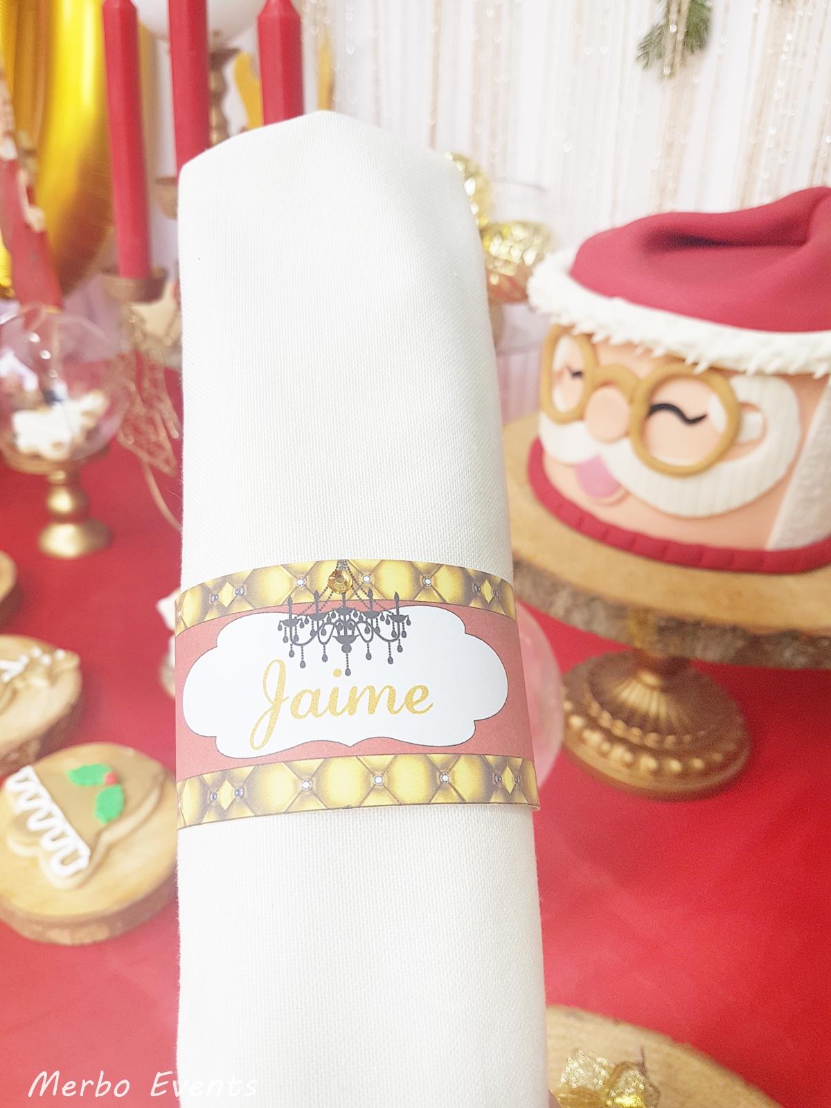 Imprimible decoración Navidad Merbo Events