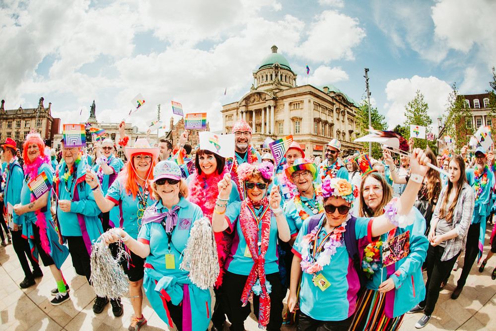Pride in Hull 2017. Photo: © Tom Arran