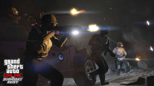 Ya disponible Golpe del Juicio Final para GTA Online