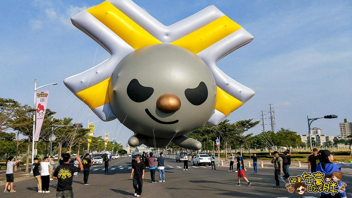 高雄夢時代OPEN大氣球遊行-17