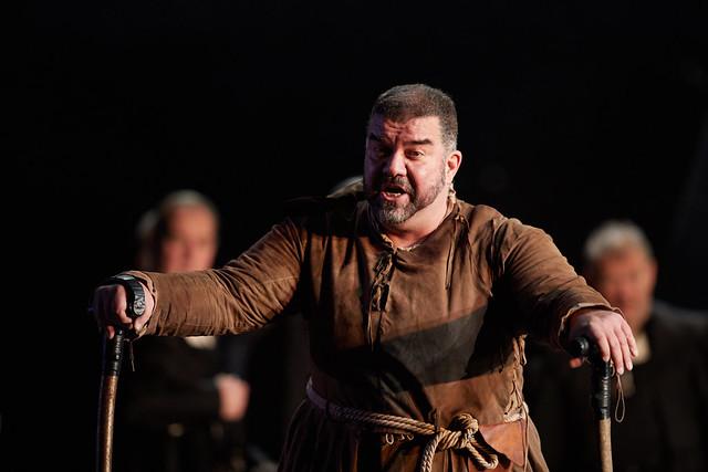 DIMITIRI PLATANIAS AS RIGOLETTO in Rigoletto The Royal Opera Season 2017/18 © ROH 2017. Photograph by Mark Douet.