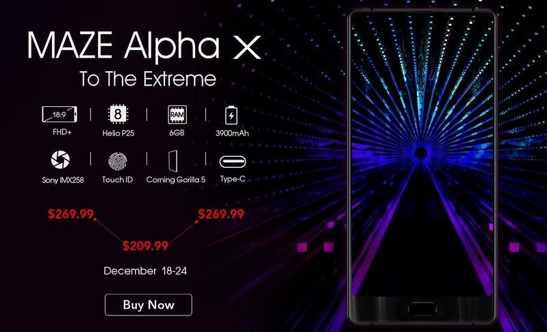 TOMTOP Maze Alpha X セール