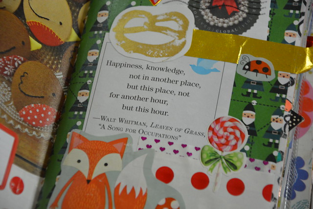iHanna's Christmas Journal: Detail - Happiness right now
