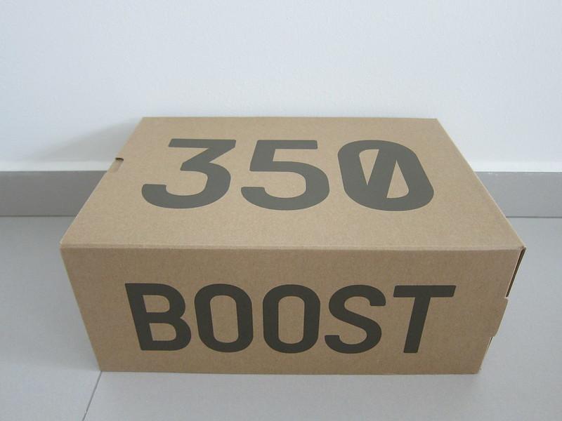 Adidas Yeezy Boost 350 v2 (Blue Tint) - Box Side