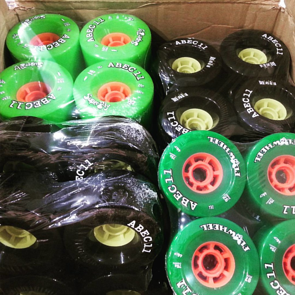 More big wheels have landed from Abec11 - 97mm and 107mm! #abec11 #superfly #e-skate