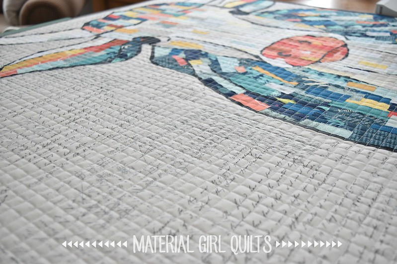 Buttercup quilt by Amanda Castor of Material Girl Quilts