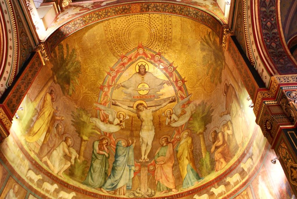 Fresque de la Chapelle des soeurs de Saint Joseph à Lyon