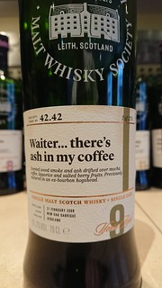 SMWS 42.42 - Waiter... there's ash in my coffee