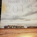 My A3 2018 calendar of Newcastle and Northumberland.