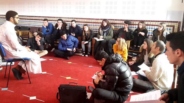 Visite de la mosquée Massalam