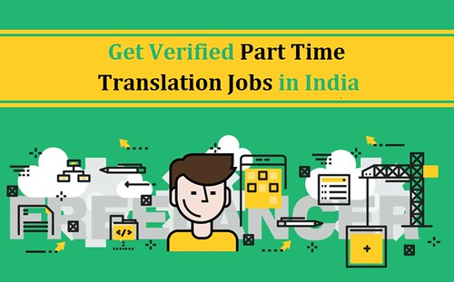 Get Verified Part Time Translation Jobs in India