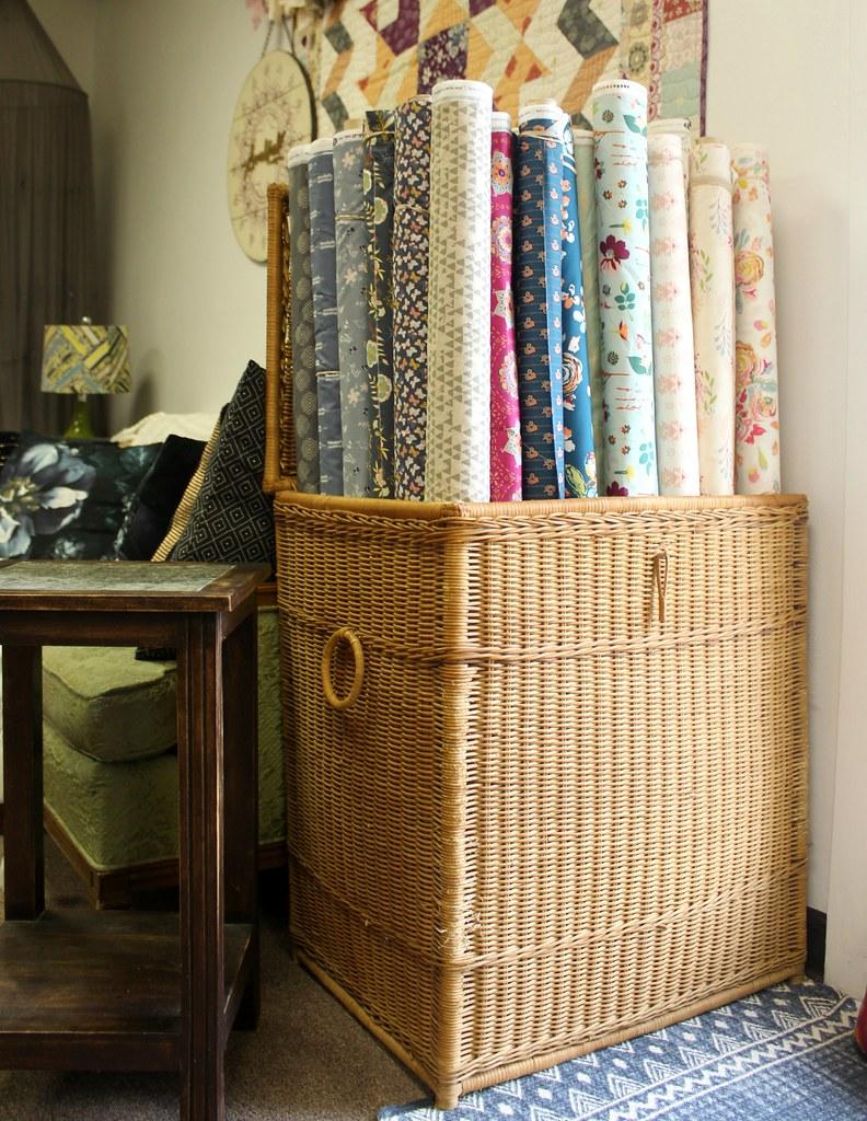Studio New Fabric Roll Basket