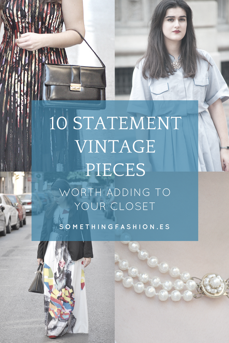 statement vintage pieces fashionbloggers advice thrifting somethingfashion spain