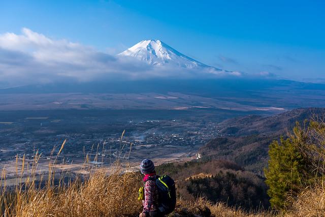 振り返り富士山