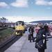 School trip by train, May 1973