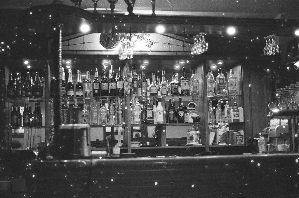 Snowy bar