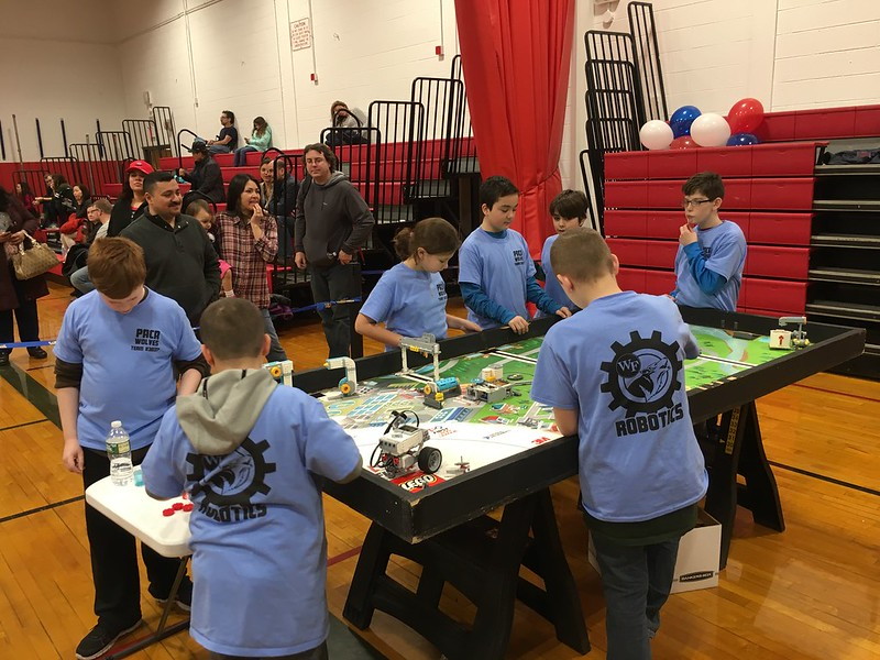 Paca Wolves at FIRST Robotics Competition