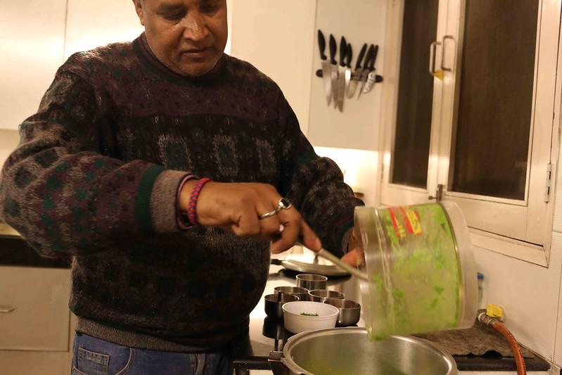 Julia Child in Delhi – Surinder Kumar Makes UP's Matar ki Daal, Safdarjung Enclave