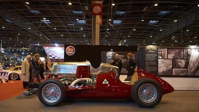 Alfa Romeo monoposto ~ Retromobile ~ 2018