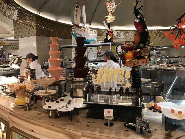 Medley Buffet, chocolate fondue