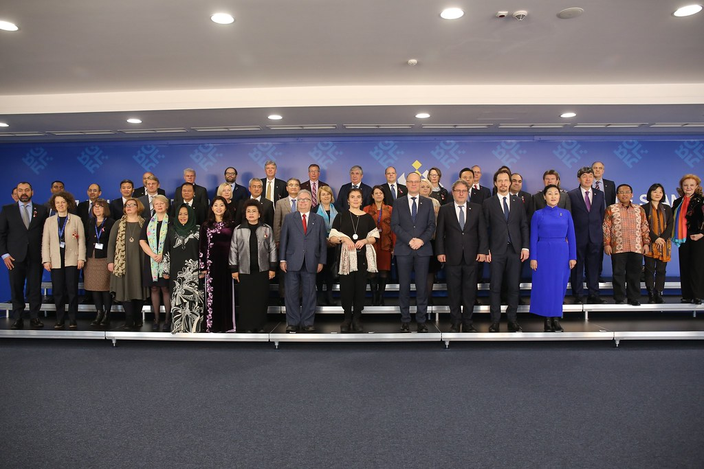 8th ASEM Culture Ministers' Meeting: Family photo