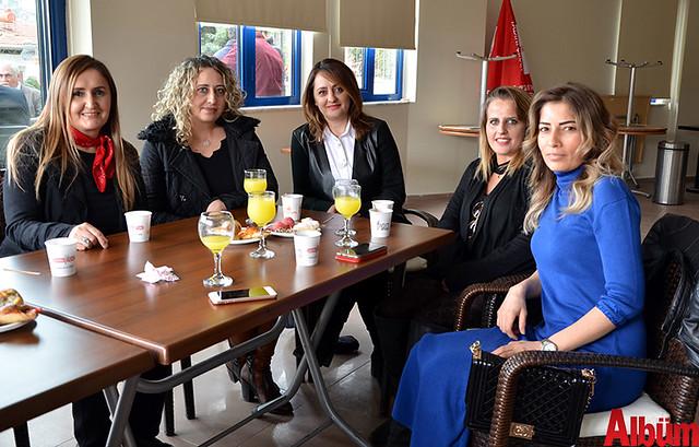 Memnune Ersoy Türkyılmaz, Neşe Yenel, Nursen Süvari Küçükballı, Emine Yetkin, Sultan Bayar Gözükızıl