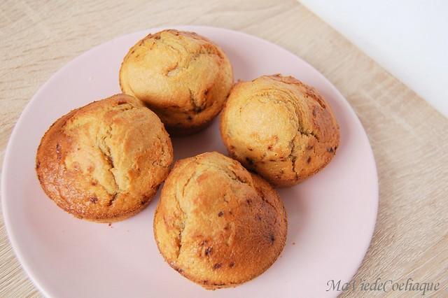 muffins sans gluten café et sans lactose