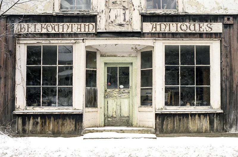 The Never Open Belfountain Antiques